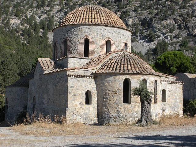 kostel na Kypru