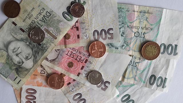 druhy mincí a bankovek