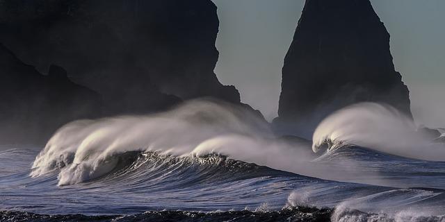 pobřeží pacifiku