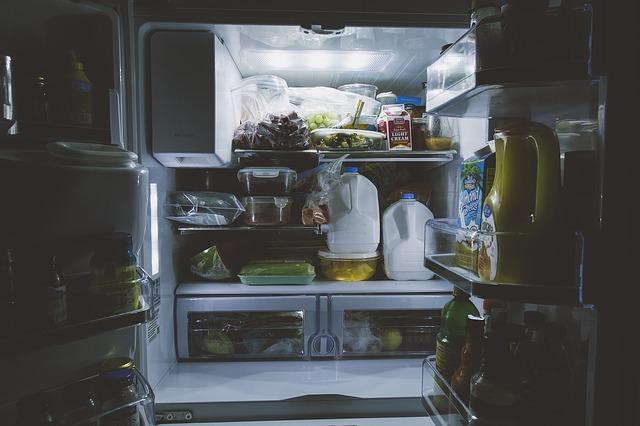 dvoudvéřová lednice